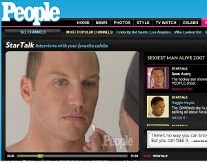 Sean Avery as People\'s \